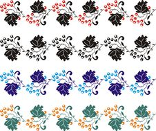 Free Element For Design, Corner Flower 05 Royalty Free Stock Images - 1479579