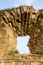 Free A Window Is In An Old Lithoidal Wall Stock Photography - 14700592