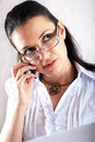 Free Girl Speaking On The Phone Royalty Free Stock Photography - 14701867
