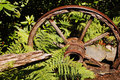 Free Rusty Old Wagon Wheel Stock Photos - 14701973