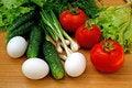 Free Appetizing Light Vegetables Snack Stock Photo - 14707130