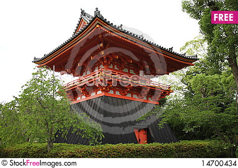 A temple Stock Photo