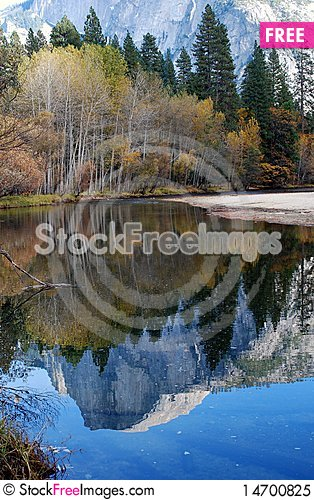 Free Half Dome Reflected Royalty Free Stock Photo - 14700825