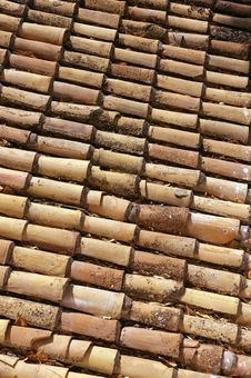 Free Mediterranean Old Roof. Stock Image - 14700101