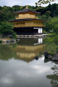 Free Kinkakuji Rokuonji In Kyoto Stock Photo - 14700540