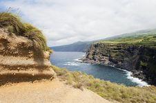Landscape In Faial, Azores Stock Photos