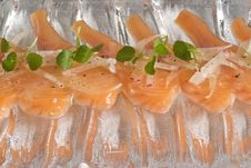 Cured Rainbow Trout Stock Images