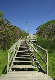 Stairway To Nowhere Royalty Free Stock Images