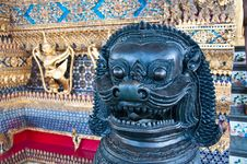 Free Lion In The Grand Palace Stock Images - 14703094