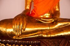 Free Wat Pho, Temple Of The Reclining Buddha Royalty Free Stock Photos - 14703348