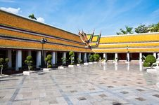 Free Wat Suthat Thai Temple Stock Images - 14703534