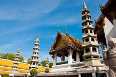Free Wat Suthat Thai Temple Royalty Free Stock Photos - 14703538