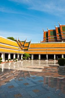 Free Wat Suthat Thai Temple Stock Images - 14703554