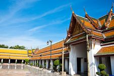 Free Wat Suthat Thai Temple Royalty Free Stock Photography - 14703577