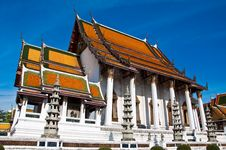Free Wat Suthat Thai Temple Royalty Free Stock Photo - 14703595