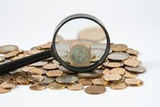 Free Coins Of Different Countries Royalty Free Stock Photo - 14703715