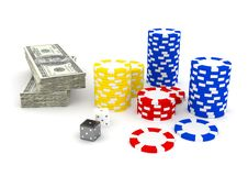 Free Casino Roulette S Chips Stock Image - 14703991
