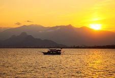 Free Colourful Turkish Sunset Stock Photo - 14704310
