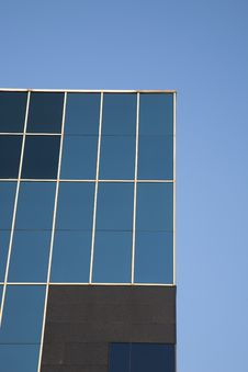 Free Blue Office Facade Stock Photography - 14704532