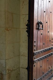 Free Fragment Of A Church Door Stock Images - 14704624