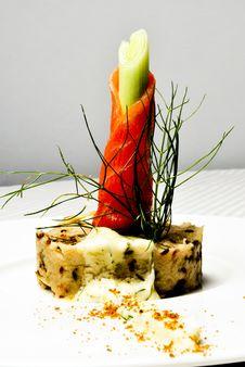 Free Norwegian Salmon Royalty Free Stock Photo - 14704655