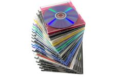 Free Compact Disk Royalty Free Stock Photography - 14704807