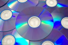 Free Compact Disks Royalty Free Stock Photography - 14704837