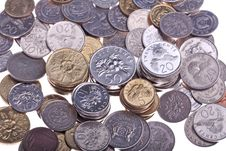 Free Singapore  Coins Royalty Free Stock Images - 14704869