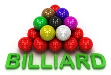 Free Billiard Game Royalty Free Stock Photo - 14705185