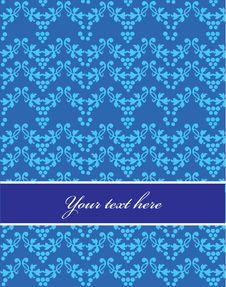 Free Seamless Blue Pattern, Design Illustration - 1 Royalty Free Stock Photo - 14705515