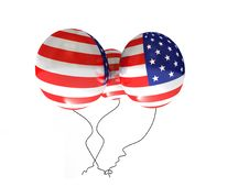 Free American Balloons Stock Images - 14705844