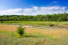 Free Summer Landscape Royalty Free Stock Photo - 14706015