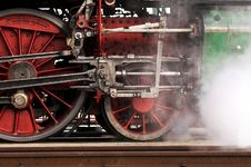 Free Steam Locomotive Wheels Stock Image - 14706131