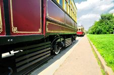 Free Vintage Tram Royalty Free Stock Photography - 14706597