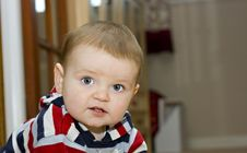 Free A Cute One Year Old Boy Stock Images - 14706634