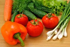 Free Appetizing Light Vegetables Stock Photography - 14707032