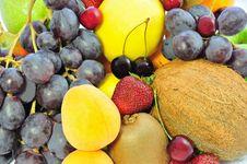 Free Background Of Fruit Royalty Free Stock Photo - 14707065