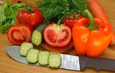 Free Appetizing Light Vegetables Snack Stock Photo - 14707200