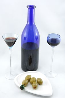 Free Cherry Brandy For Two Stock Photos - 14707373