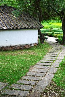 Free Stone Path Stock Image - 14707861