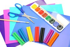 Free Paints And Plasticine Royalty Free Stock Photos - 14707918
