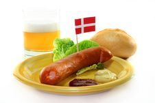 Free Danish Sausage Stock Photo - 14708590