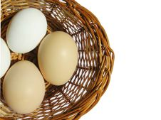 Free Eggs In A Basket Royalty Free Stock Photos - 14708908