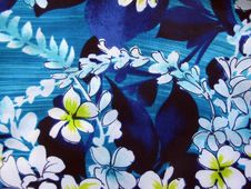 Free Hawaiian Floral Print Royalty Free Stock Photo - 14709005