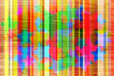 Free Abstract Background With Colour Strips. Royalty Free Stock Images - 14709449