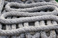 Free Ropes Detail Royalty Free Stock Photography - 14709637