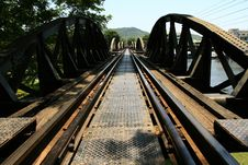 Free The Bridge On The River Kwai Royalty Free Stock Photos - 14709858