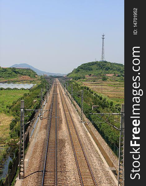 China s railway transportation