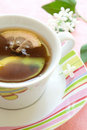 Free Cup Of Tea With Slice Lemon Stock Images - 14712524