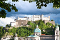 Free Veiw On Hohensalzburg Fortress Royalty Free Stock Images - 14713289